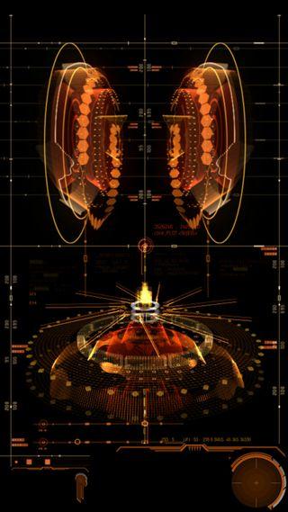 Обои на телефон твой, конепт, темные, your device reactor, ui, reactor, device