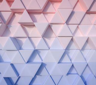 Обои на телефон треугольники, шаблон, цифровое, фон, геометрические, арт, абстрактные, 3д, 3d
