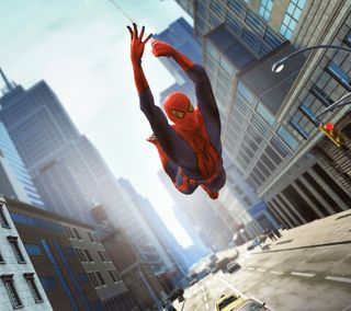 Обои на телефон супергерои, человек паук