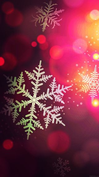 Обои на телефон снежинки, снег, рождество, зима