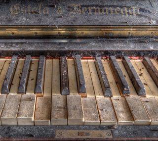 Обои на телефон палец, старые, пианино, доска, old piano, melody, ivories, finger board