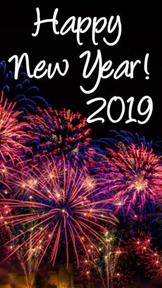Обои на телефон фейерверк, счастливые, празднование, новый, new years eve, happynew2019, 2019