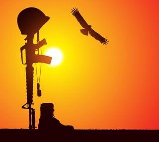 Обои на телефон упавший, солдат, военные, fallen soldier