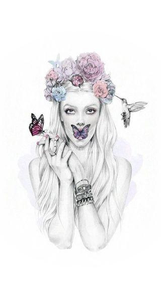Обои на телефон королева, цветы, queen flowers