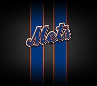 Обои на телефон эмблемы, новый, логотипы, команда, йорк, бейсбол, mlb, mets