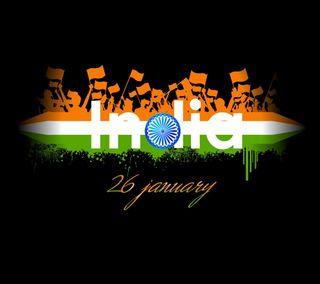 Обои на телефон фестиваль, рисунки, индия, знаки, дизайн, день, высказывания, абстрактные, 26 jan republic day