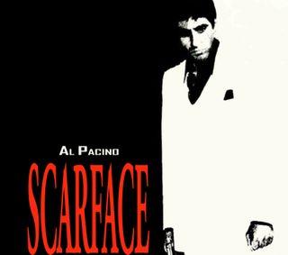 Обои на телефон друг, гангстер, scarface, scar