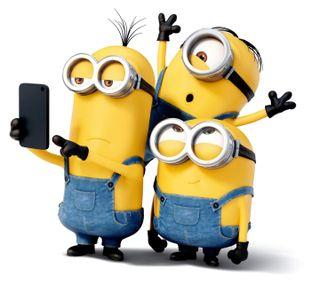 Обои на телефон селфи, миньоны, minions selfie, fdgf