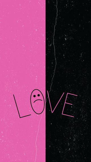 Обои на телефон позитивные, я, слева, сердце, покинуть, одиночество, любовь, взгляд, stay, love, break