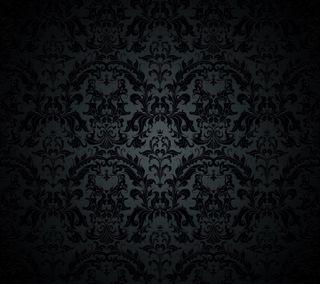 Обои на телефон винтаж, шаблон, черные, текстуры