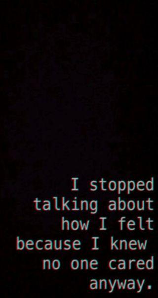Обои на телефон темные, грустные, боль, тишина