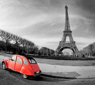 Обои на телефон франция, черные, париж, новый, машины, крутые, красые, белые, башня, hd, 2014