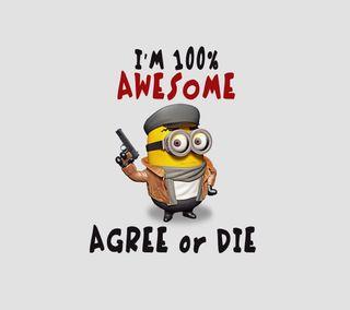 Обои на телефон забавные, цитата, умри, поговорка, оружие, ненависть, миньоны, милые, любовь, крутые, классные, love, agree or die