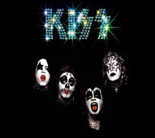 Обои на телефон группа, поцелуй, музыка, albums