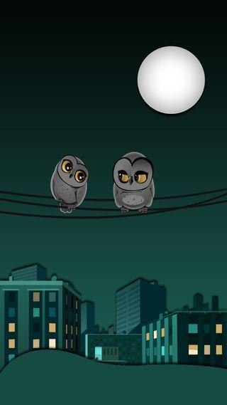 Обои на телефон сова, зефир, материал, дизайн, lollipop, excitement owls