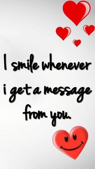 Обои на телефон сообщение, ожидание, любовь, love