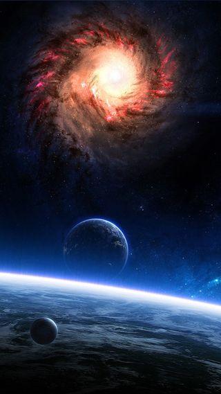 Обои на телефон космос, галактика, s6, hd, galaxy
