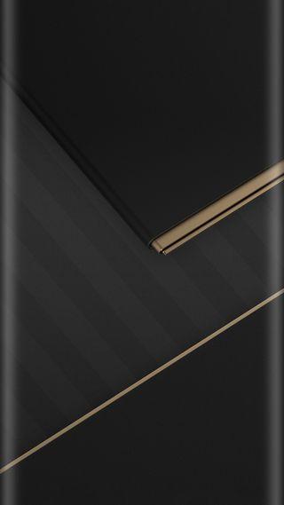 Обои на телефон полосы, черные, стиль, серые, золотые, грани, абстрактные, s7, edge style