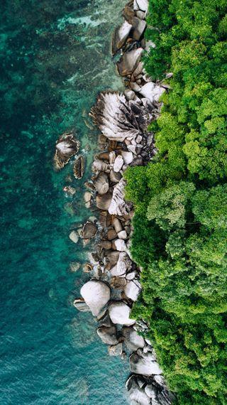 Обои на телефон тропические, синие, природа, пляж, остров, океан, курорт, клуб, вода, андроид, mare, android, 4k fulhd nature