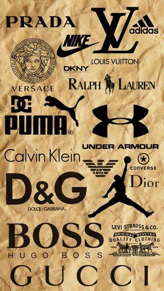 Обои на телефон пума, эпл, под, найк, логотипы, крутые, бренды, айфон, under armour, puma, nike, iphone, iconic logos, apple, addidas