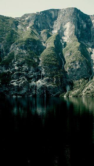 Обои на телефон дикие, природа, озеро, норвегия, горы, водопад, wild nature, fairytale, ardal