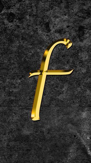 Обои на телефон буквы, f letter