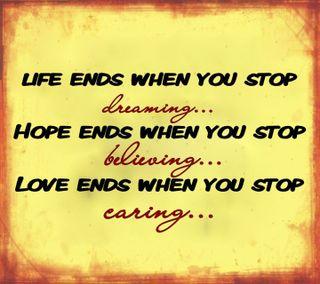 Обои на телефон стоп, чувства, ты, приятные, правда, поговорка, новый, надежда, любовь, жизнь, love, ends when you stop, ends