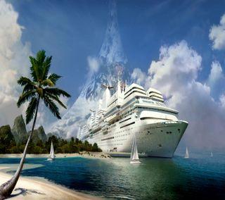 Обои на телефон корабли, cruise ship, --------------