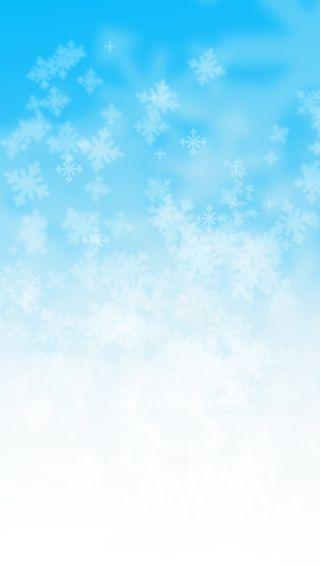 Обои на телефон страна чудес, снежинки, снег, синие, кристалл, зима, вода, winter wonderland