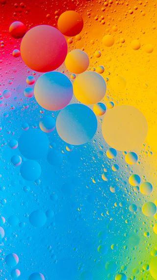 Обои на телефон шары, пузыри, красочные, colorful bubbles 4k