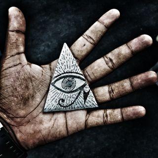 Обои на телефон треугольник, иллюминаты, глаза