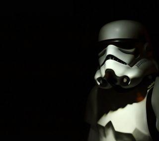 Обои на телефон штурмовик, тень, звезда, войны, trooper shadow, star wars