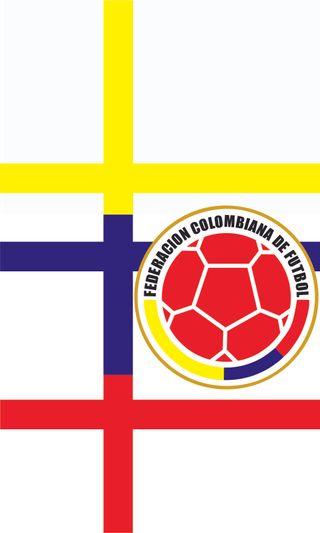 Обои на телефон щит, колумбия, футбол, seleccin