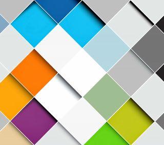 Обои на телефон геометрия, цветные, кубы, красочные, rhomb, colorful rhombs