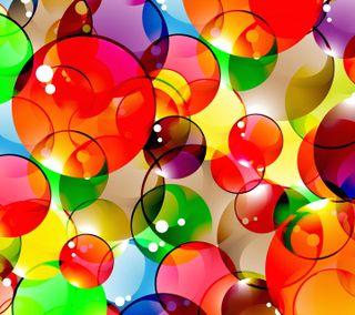 Обои на телефон взгляд, приятные, круги, красочные, colorful circles