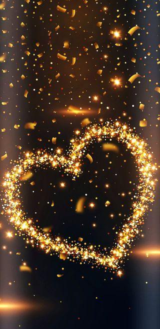 Обои на телефон love, sparkling heart, любовь, прекрасные, сердце, огни, симпатичные, девчачие, сверкающие, блестящие