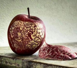 Обои на телефон креативные, эпл, классные, apple creativity, apple