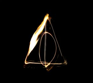 Обои на телефон магия, логотипы, книги, гарри поттер, tales, rowling, deathlyhallows, deathly hallows logo