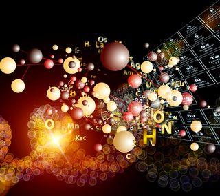 Обои на телефон элемент, сфера, наука, знаки, scientific, molecule
