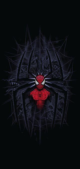 Обои на телефон самсунг, паук, марвел, логотипы, герои, галактика, samsung, plus, note 10, note, marvel, galaxy, 10