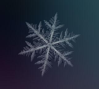 Обои на телефон снежинки, макро, снег, зима