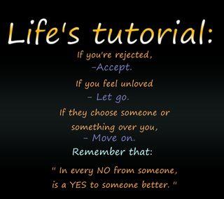 Обои на телефон цитата, поговорка, новый, крутые, жизнь, yes, tutorial, no, accept