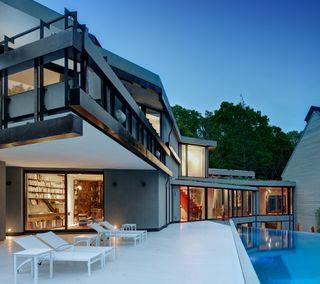 Обои на телефон роскошные, дом, pool, luxury