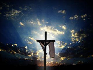Обои на телефон крест, исус, lent