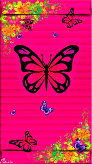 Обои на телефон темы, mariposa