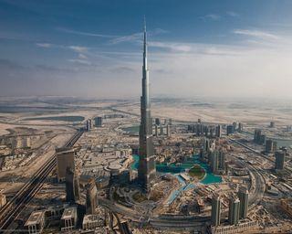Обои на телефон небоскребы, дубай, здания, город, бурдж, tallest, khalifa, hd