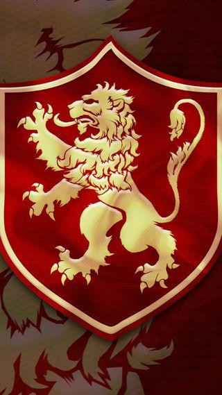 Обои на телефон лев, игра, lannister, hbo, got