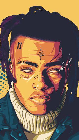 Обои на телефон рэп, поп, легенда, король, бог, x*xtentacion, rip, rap king, rap god