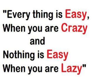 Обои на телефон цитата, сумасшедшие, ничего, ленивый, легко, everything