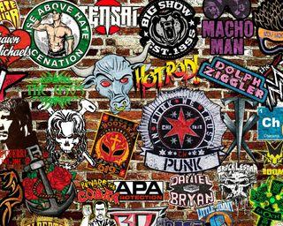 Обои на телефон cena, usos, wwe, wwe logos, логотипы, рок, панк, дэниел